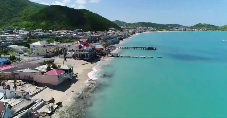 Watch Aerial Drone Footage Of Grand Case Shows Beach Club Calmos Cafe Zen It More