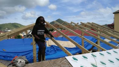 Photo of See How One Local Man is Helping to Rebuild Saint Martin One Roof at a Time