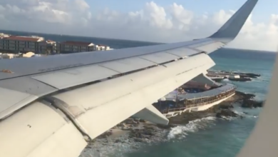 Photo of My Post-Irma Trip to St. Martin: Part 2 – A Familiar Feeling as We Fly Over Maho Beach on Arrival (Video)