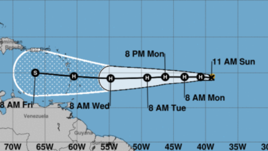 Photo of Tropical Storm Isaac Expected to Become Hurricane Today, Tracking Towards Caribbean