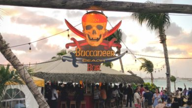 Buccaneer Beach Bar Simpson Bay