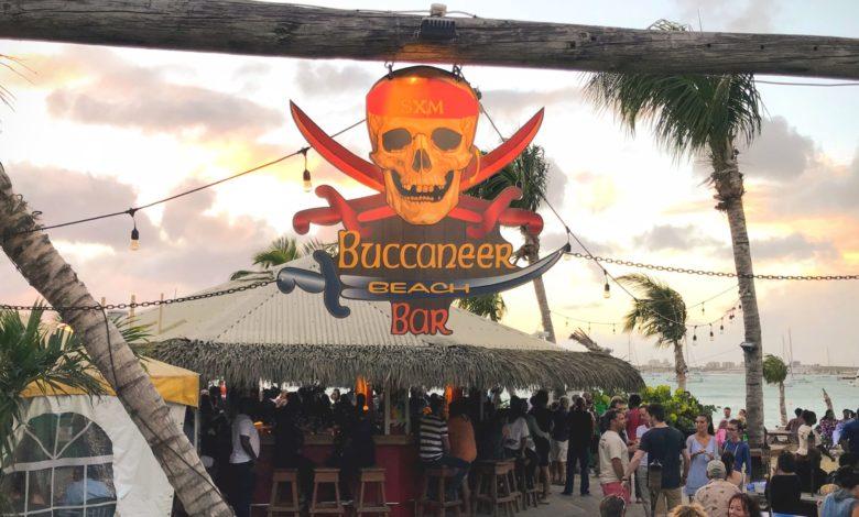 Buccaneer Beach Bar Simpson Bay